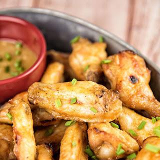 Sweet Mustard Chicken Wings