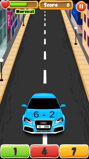 Car Math - a cool math game