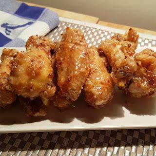 Air Fryer Honey Garlic Chicken Wings Recipe