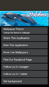Dolphin Live Wallpapers screenshot 4
