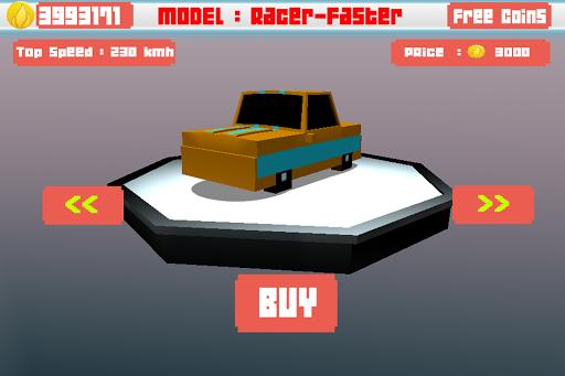 Blocky Traffic Racer 3D