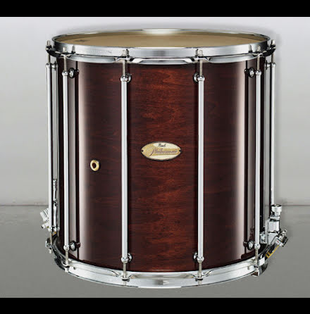 "16"" x16"" Pearl Field Drum - Walnut Laquer"