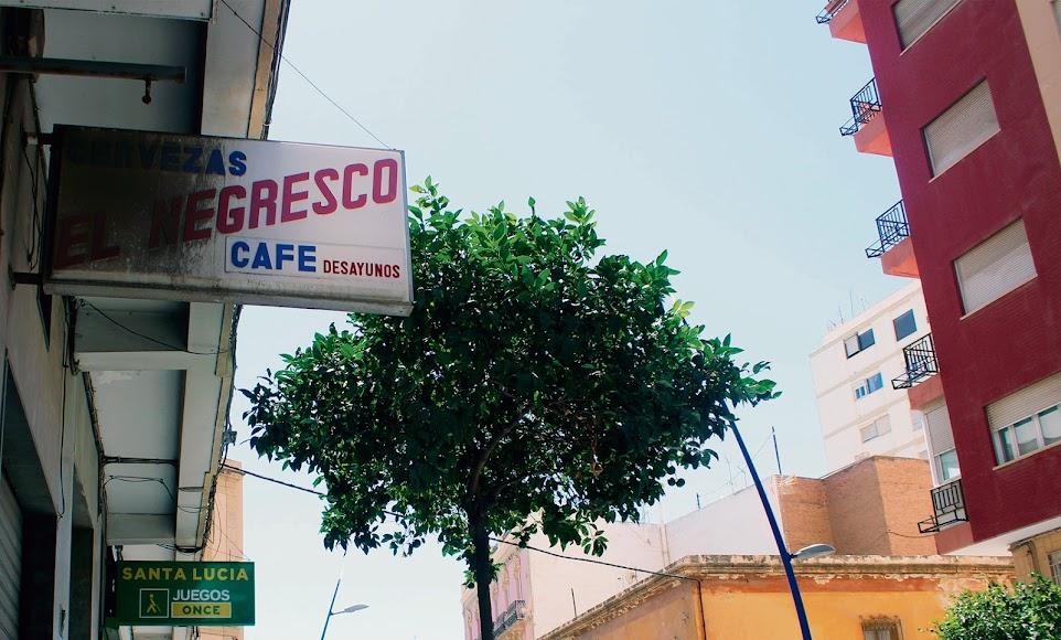 Bar Negresco de la Rambla Alfareros.