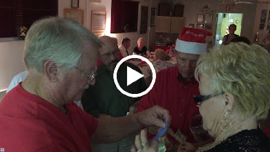 Video: Selling tickets for the auction....