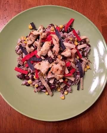Super easy Margarita Chicken Bowl