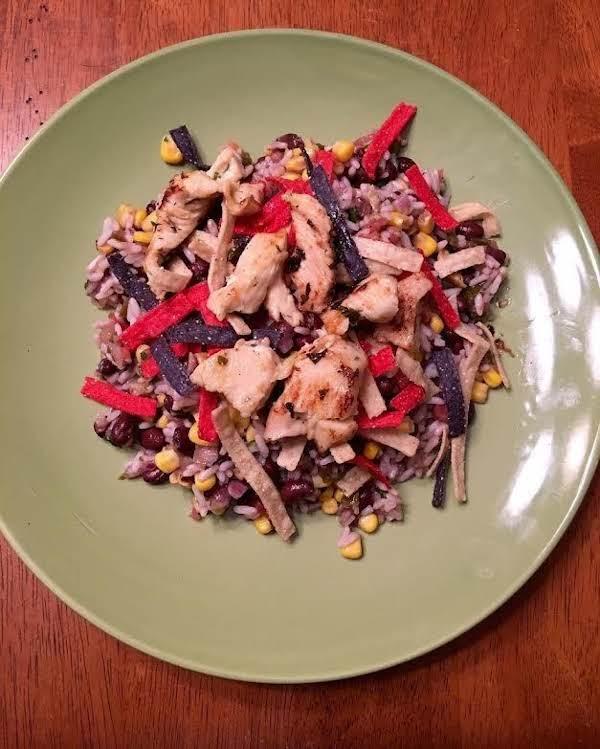 Super Easy Margarita Chicken Bowl Recipe