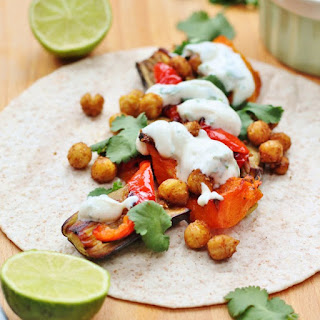 Spiced Roasted Chickpea Tacos Recipe