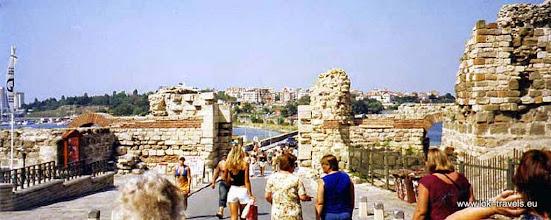 Photo: Nessebar, middeleeuwse stadsmuren | Mediaeval city walls.  www.loki-travels.eu