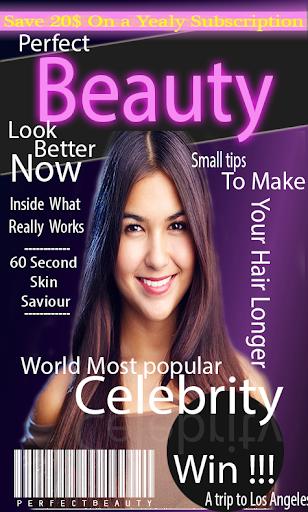 Magazine Cover Frames
