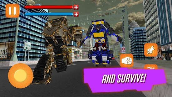 Play Unknowingly Robot Battle - náhled
