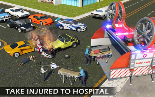 Heli Ambulance Rescue Team 3D Helicopter Simulator  screenshots 8