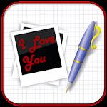 ✎ Photo Text Write on Picture Icon