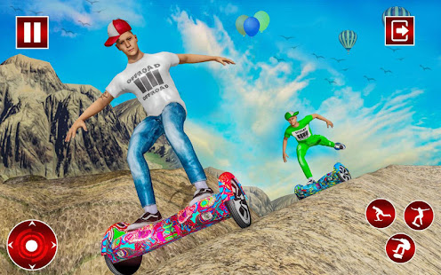 Off Road Hoverboard Stunts for PC-Windows 7,8,10 and Mac apk screenshot 6