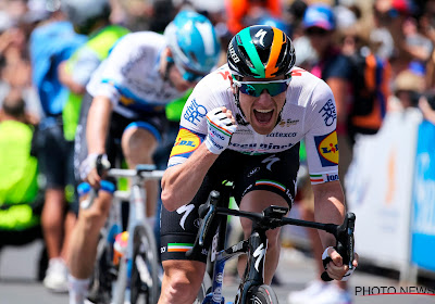 Sam Bennett is de eerste ritwinnaar in de Tour Down Under