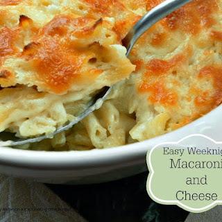 Easy Weeknight Macaroni and Cheese