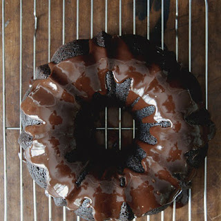 Old Fashioned Chocolate Bundt Cake With Dark Chocolate Ganache Glaze