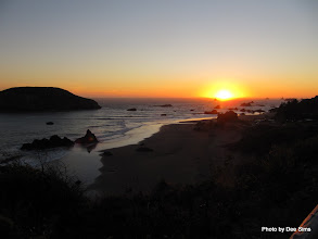 Photo: (Year 2) Day 357 - Sunset on Harris Beach