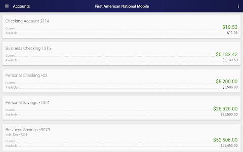First American National Mobile screenshot 5