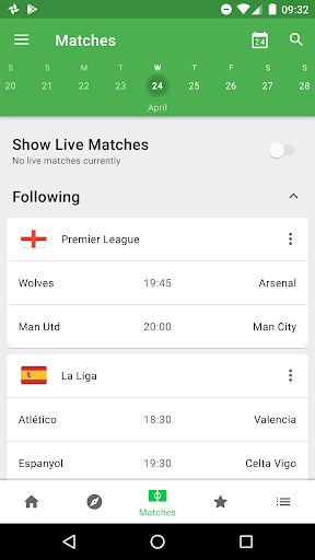CrowdScores - Live Scores & Stats 4.3.6 screenshots 1
