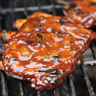 Tangy Sweet Pineapple BBQ Spare Ribs.