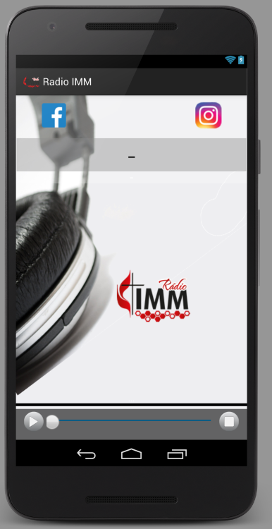 Radio IMM- screenshot