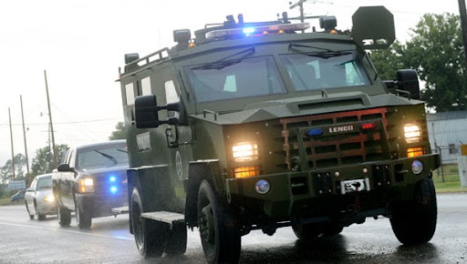 Study claims militarization of police does reduce crime