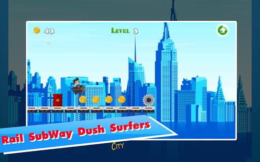 Rail Subway Rush Surfers