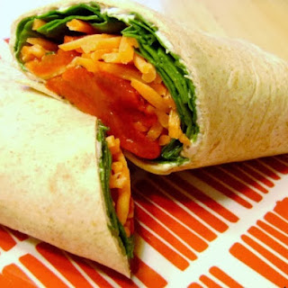 Fresh Veggie Wrap.