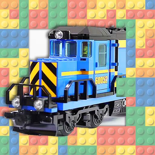 Mini Figure City Train Toys