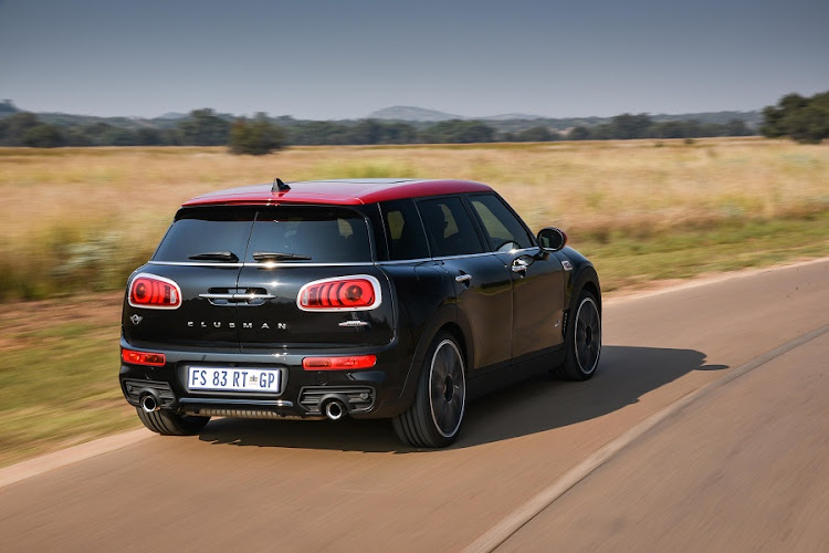 The Clubman JCW makes less sense but is a proper pocket rocket on a mountain pass. Picture: BMW SA/​ROB TILL