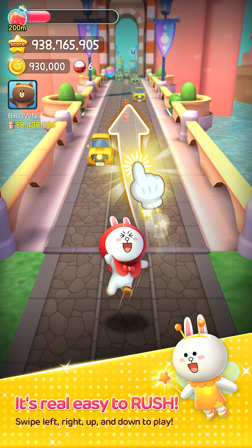 LINE RUSH !- screenshot