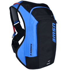 Ranger™ 9L Bounce Free Off-road Hydration Backpack, Blue-Black