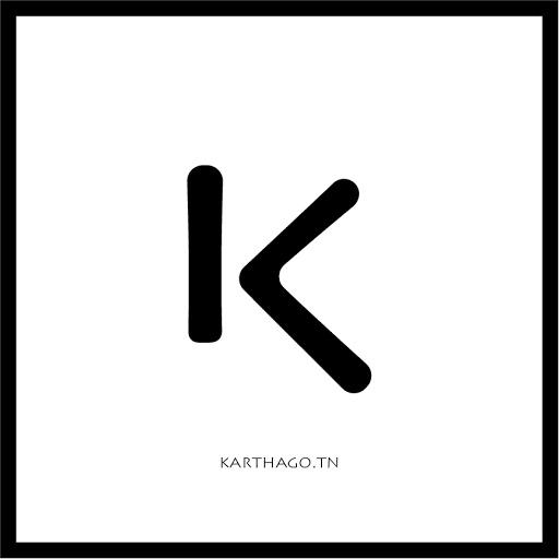 Karthago.tn logo 2020 white bold