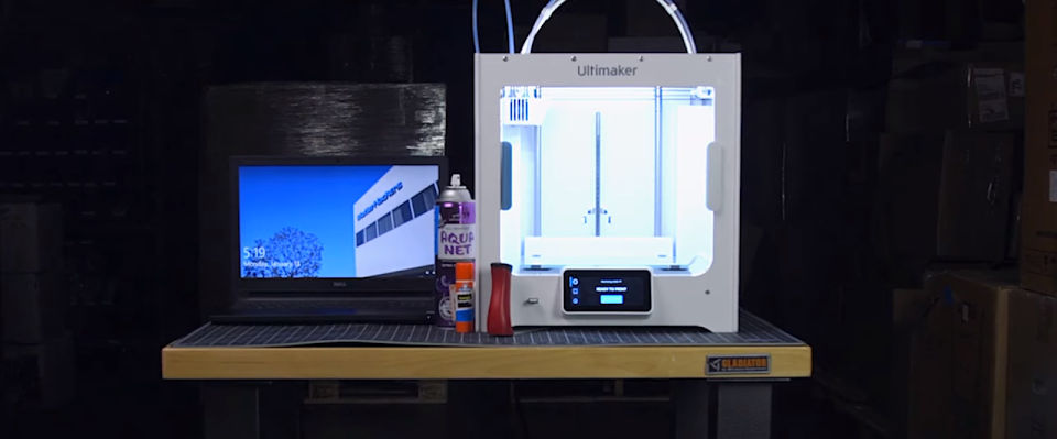 How To: Setup a Desktop Fabrication Station for 3D Printing