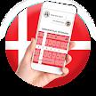 Denmark Flag Keyboard - Elegant Themes APK