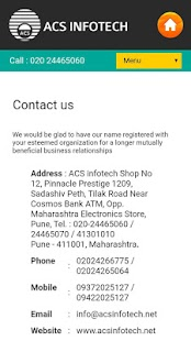 ACS Infotech screenshot