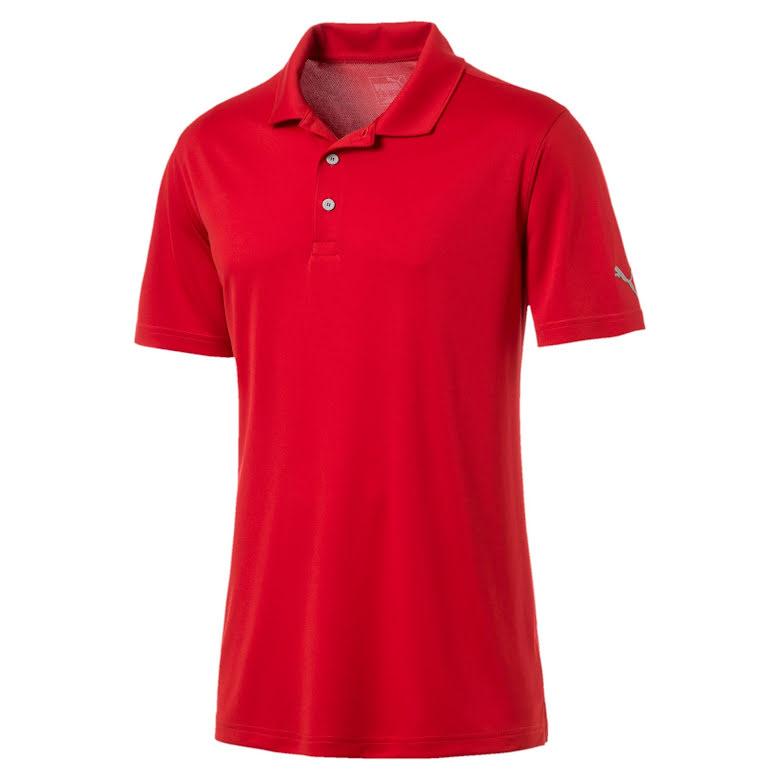 Puma Golf Rotation Polo Röd
