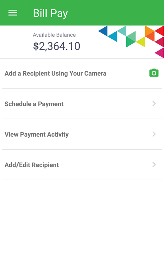 BankMobile Vibe App- screenshot