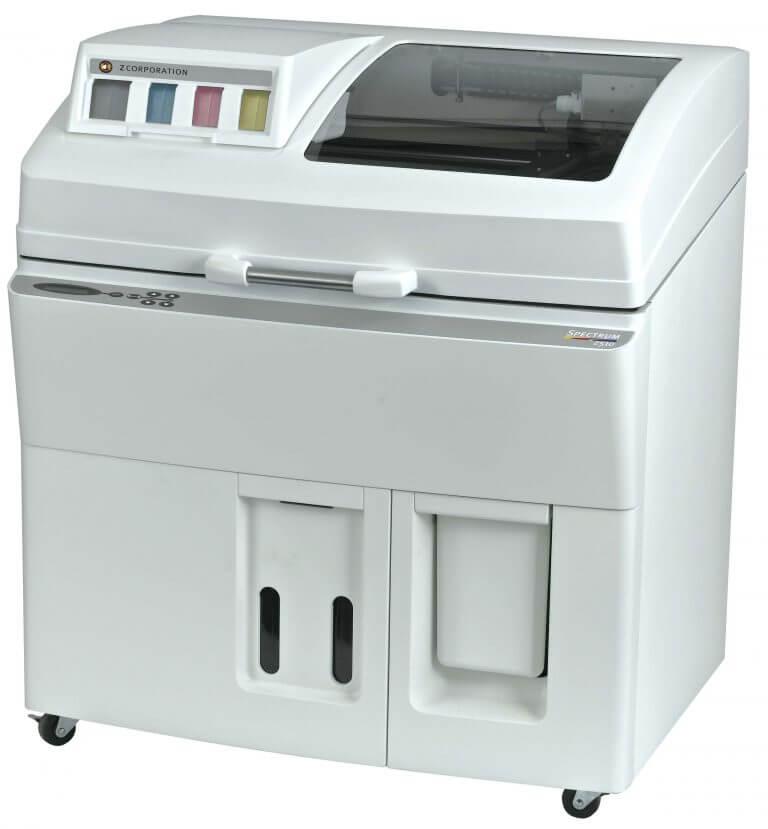 Лучший промышленный 3D-принтер: Zcorp