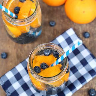 Blueberry Orange Water.