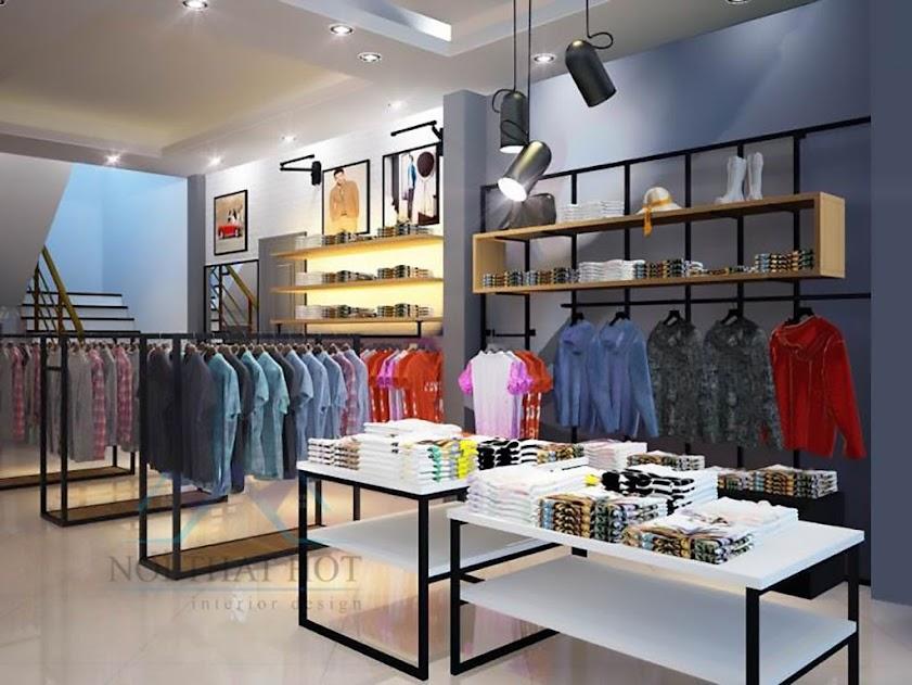 thiết kế shop thời trang Ngọc Thoa đẳng cấp