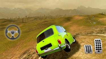 Mr.Bean off road hill climb - screenshot thumbnail 01