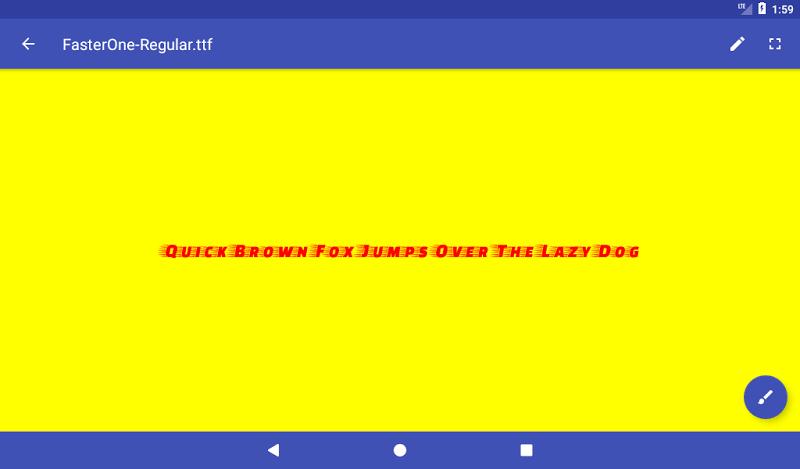 Font Viewer Plus Screenshot 12