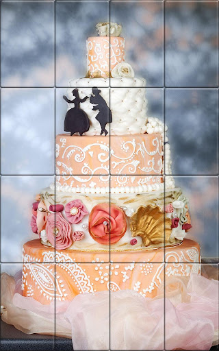 Tile Puzzle Wedding Cake apkpoly screenshots 2