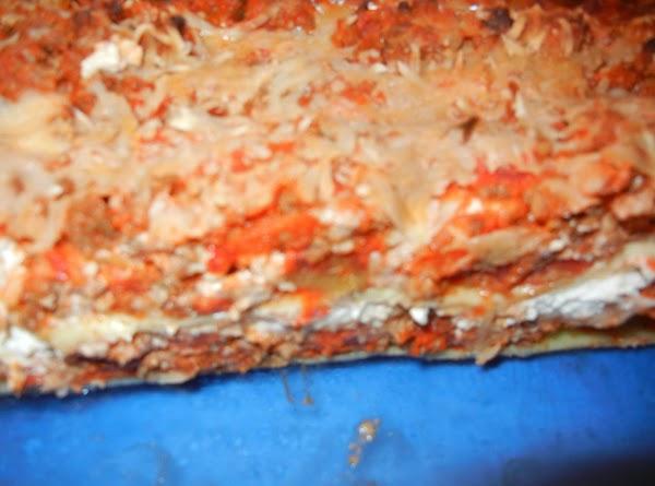 Luscious Lasagna- Connie's Recipe