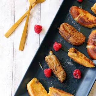 Hot Cross Bun French Toast Fingers.