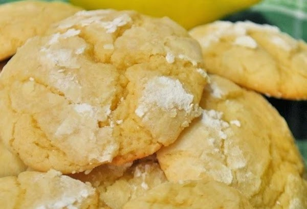 Easy And Chewy Lemon Cookies Recipe
