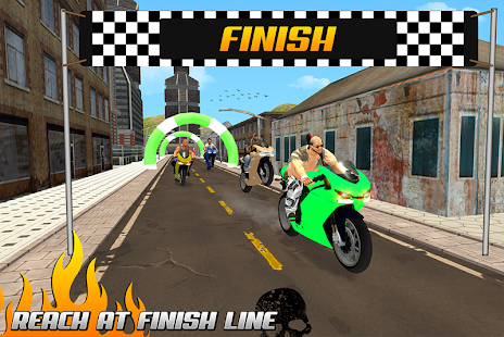 Gangster Bike Racing: Moto Fever
