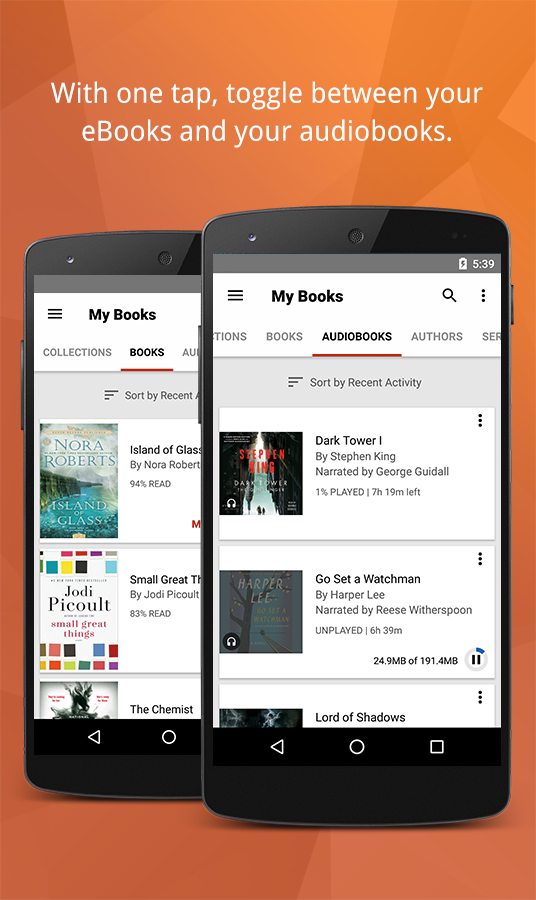 Kobo Books - eBooks & Audiobooks (ekrano kopija)