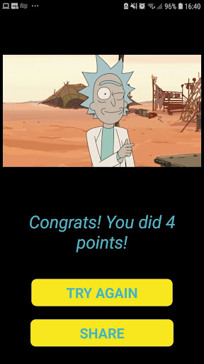 The Best Rick and Morty Quiz  screenshots 2
